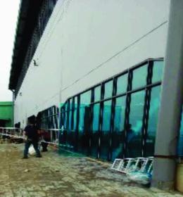 pasang kaca film gedung